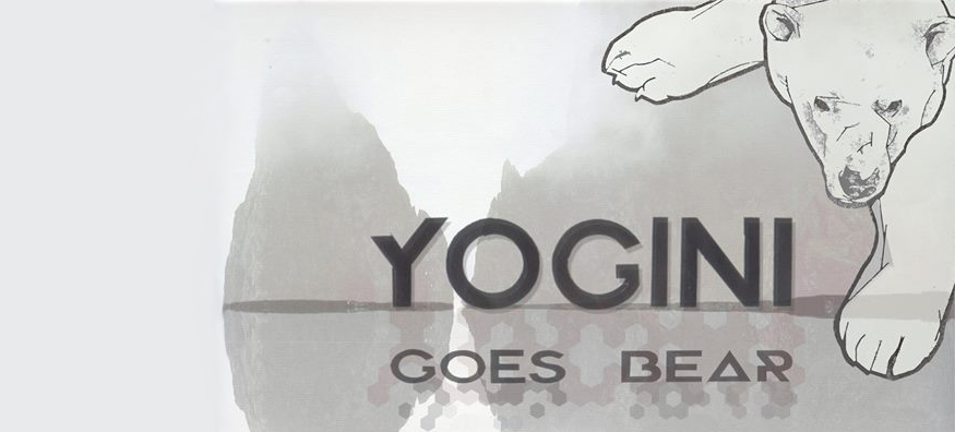 Yogini goes bear drawing